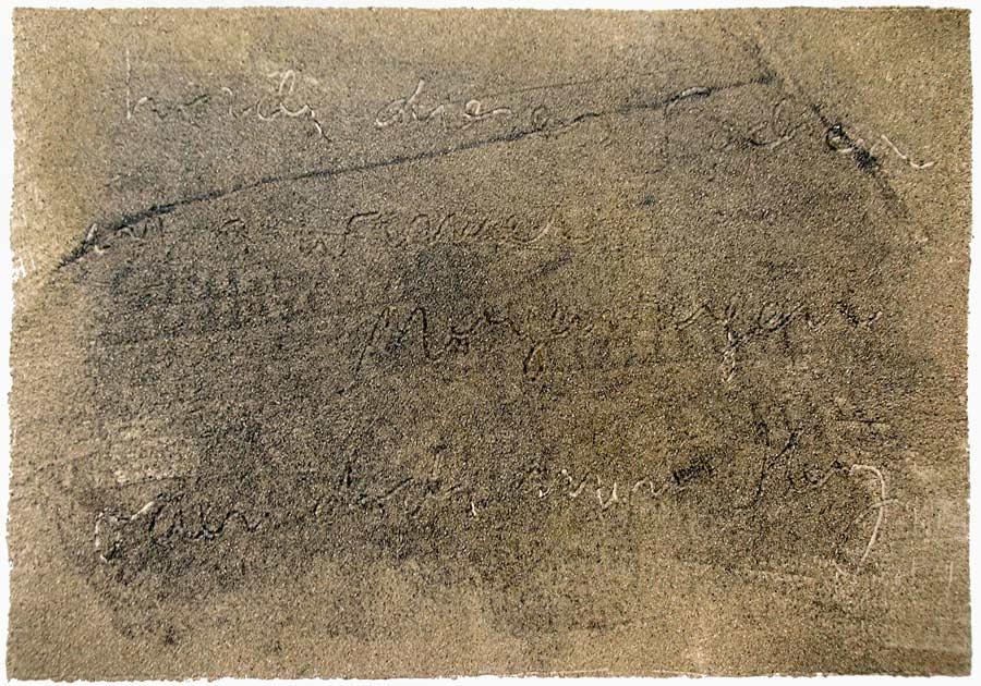 1986 Sandbild   Haiku 11